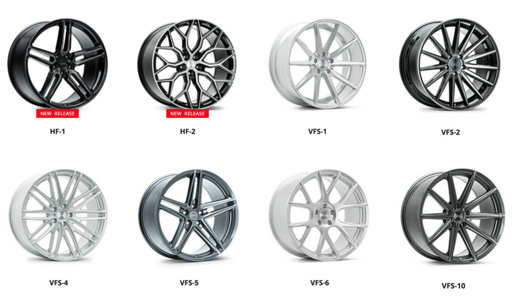Vossen Hybrid Forged Series