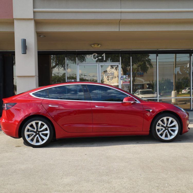 Tesla Window Tint Evs Motors Inc