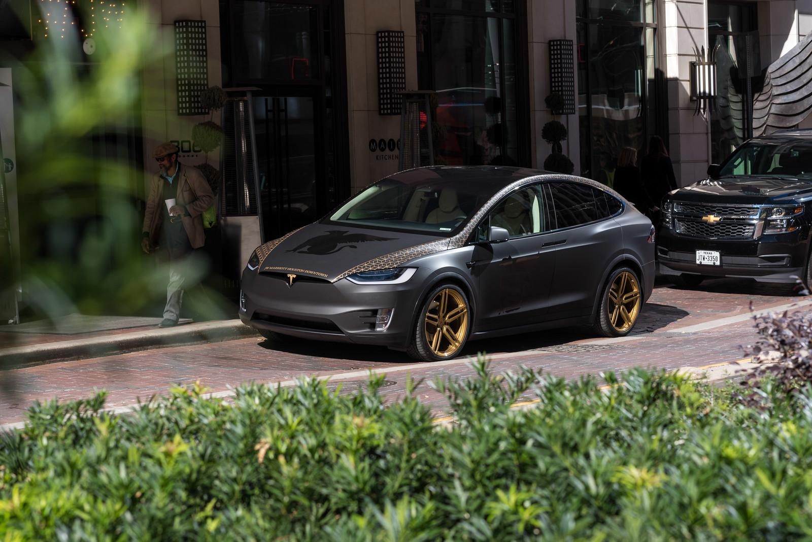 Tesla Vinyl Wrap Films Chrome Deletion Evs Motors Inc