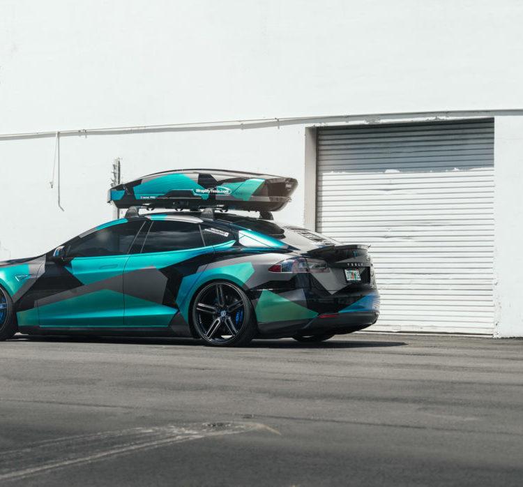 Tesla - Bespoke Wheels - EVS Motors Inc