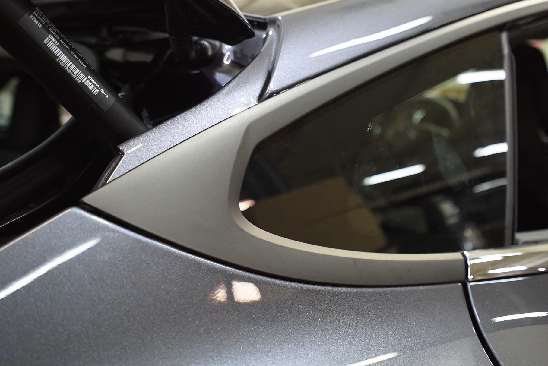 Different Vinyl Wrap - Chrome Delete - EVS Motors Inc