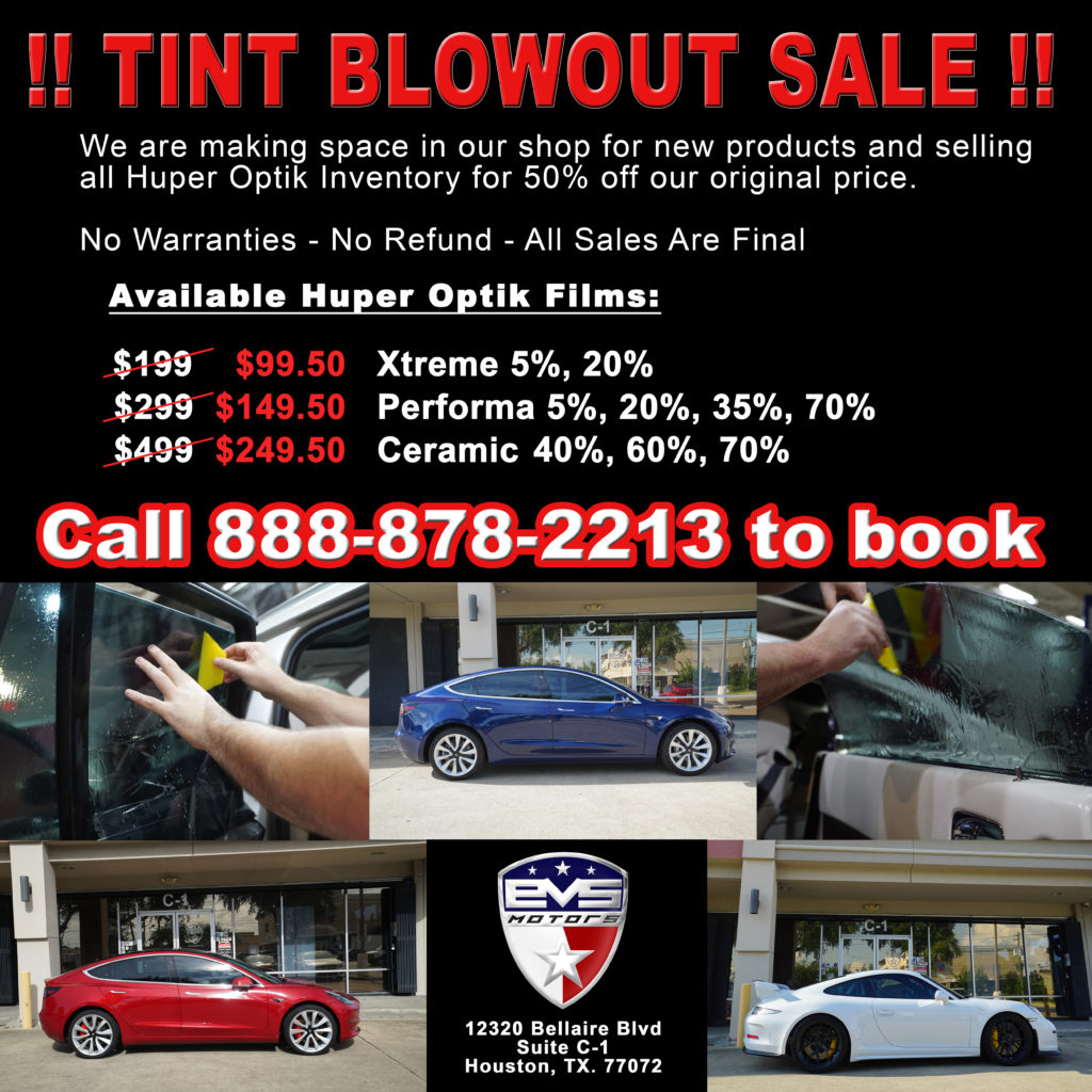 Huper Optik Window Tint